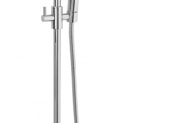 PONTA, ścienna, z rączką prysznicową, chrom, śr. 20 cm 1205 zł Ferro