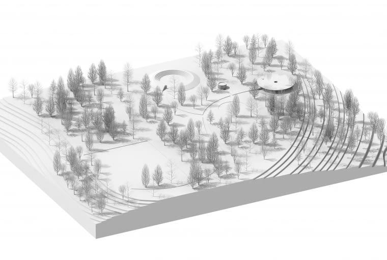 Wyróżniony projekt kaplicy dla społeczności Rukomo - Rwanda Chapel. Proj. pracownia architektoniczna Gierbienis + Poklewski