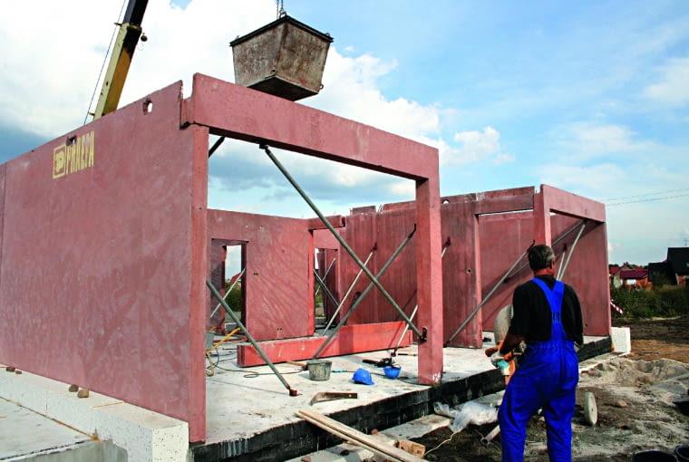 domy prefabrykowane, budowa domu