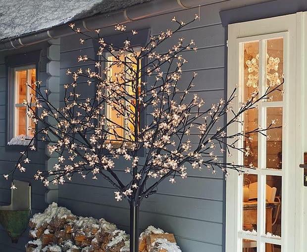 Czym Oświetlić Dom I Ogród Na święta świąteczne Dekoracje
