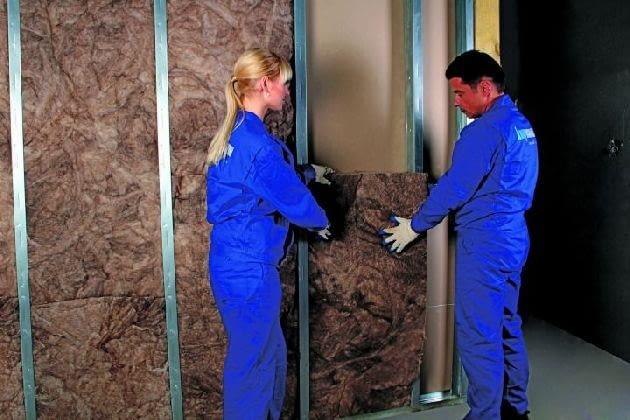 Wełna mineralna - od niej zależy izolacyjność akustyczna ściany szkieletowej