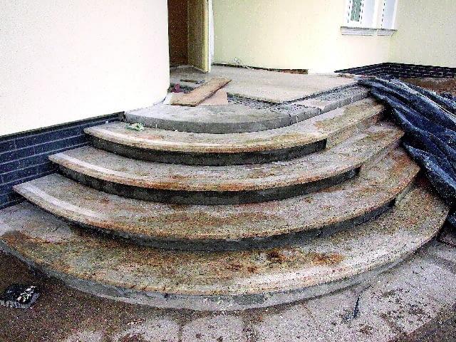 naprawa schodów zewnętrznych