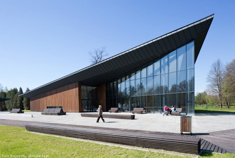 Park Zdrojowy w Horyńcu Zdroju, projekt: RYSY Architekci