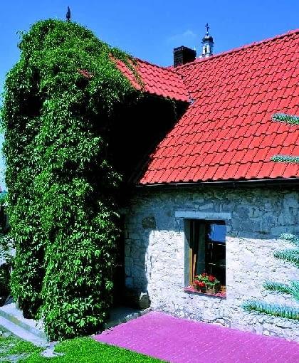 dom jednorodzinny, Kazimierz, przebudowa, ganek