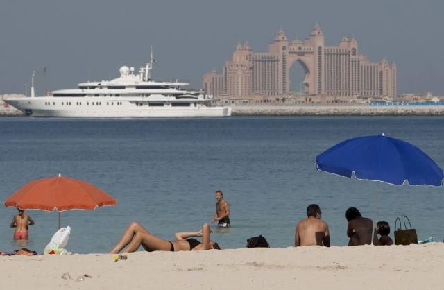 Dubaj, największe na Świecie, burj dubai, wieżowce, emiraty arabskie, architektura, Atlantis, Palm Jumeirah