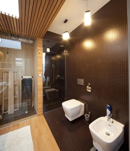 dom jednorodzinny, łazienka