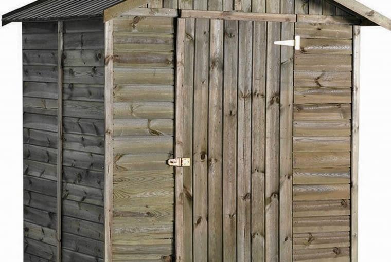 Drewniany domek na narzędzia Susi, ok. 800 zł, Sobex/Praktiker