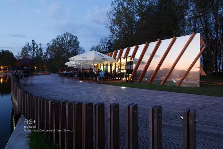 Obiekt gastronomiczny 'Promenada' w Tychach, proj. RS+
