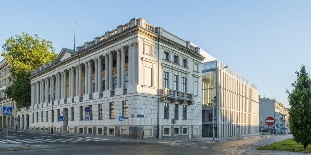 Biblioteka Raczyńskich, proj. JEMS Architekci, Poznań, źródło: JEMS Architects