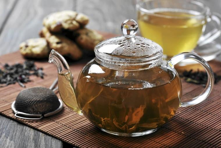 Zielona herbata - podobno jest zdrowsza od czarnej