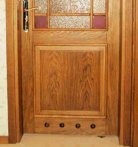 drzwi wewnętrzne z tulejami wentylacyjnymi