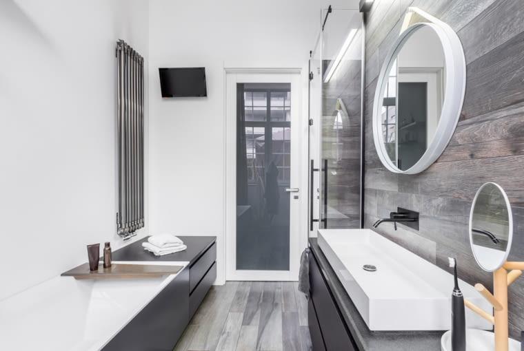 Wąska łazienka - jak ją urządzić?