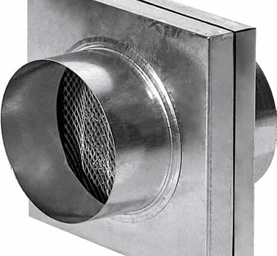 Filtr z odpornym na wysoką temperaturę metalowym wkładem oczyszczającym powietrze w instalacji