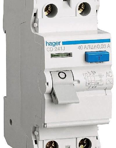 domowa instalacja elektryczna, prąd, wyłącznik różnicowo-prądowy