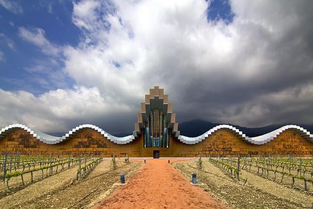 Bodegas Ysios, santiago calatrava