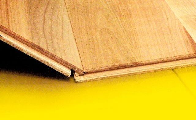 Polecane na ogrzewanie podłogowe - deski warstwowe łączone na zatrzask