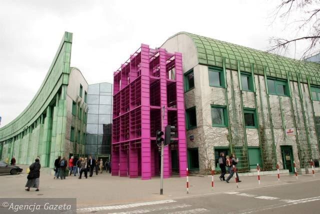 Biblioteka Uniwersytetu Warszawskiego, proj. Marek Budzyński