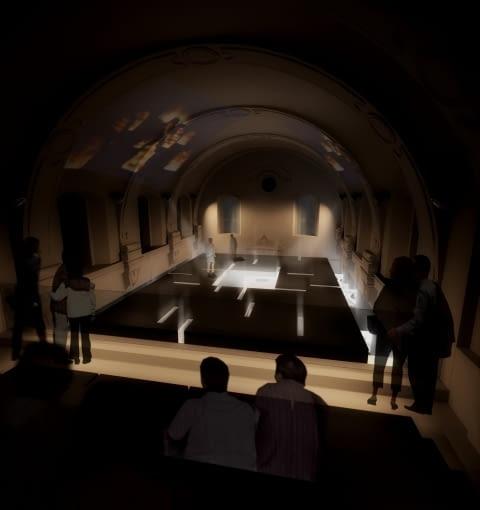 projekt, muzeum, nizio, polska architektura, chmielnik, swietokrzyski sztel