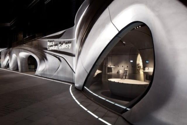 Galeria firmy Roca w Londynie