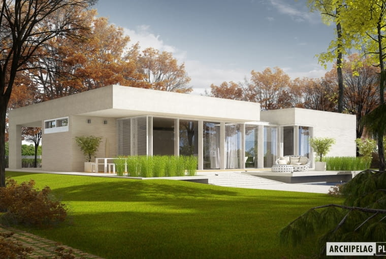 Dom EX 6 z (wiatą)