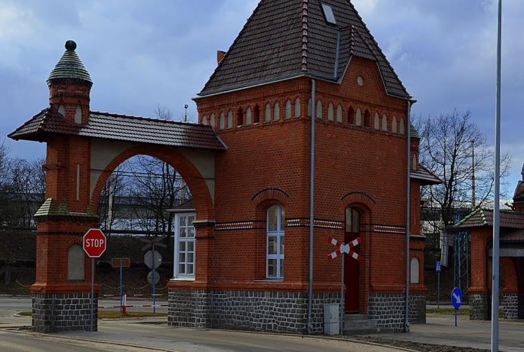 Brama główna w zespole Portu Wolnocłowego w Szczecinie