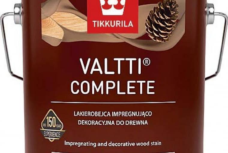 VALTTI COMPLETE/TIKKURILA | matowa lakierobejca | 40 kolorów. Cena: 49,98zł/1l