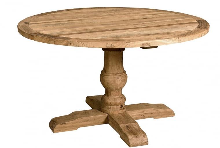 W stylu tego wnętrza: Stół, drewno wiązu, śr. 140 cm, 2490 zł, milemaison.pl