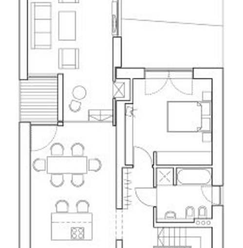 projekt - plan 1 piętra