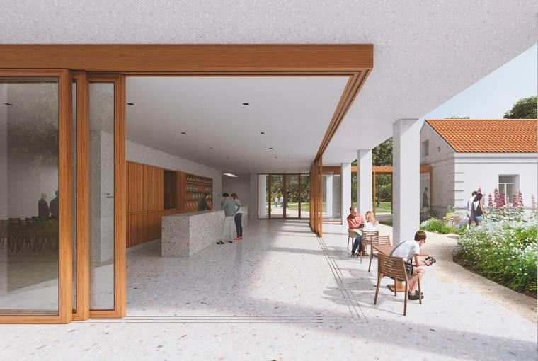 Zwycięski projekt w konkursie na koncepcję siedziby muzeum w domu rodzinnym Witolda Pileckiego