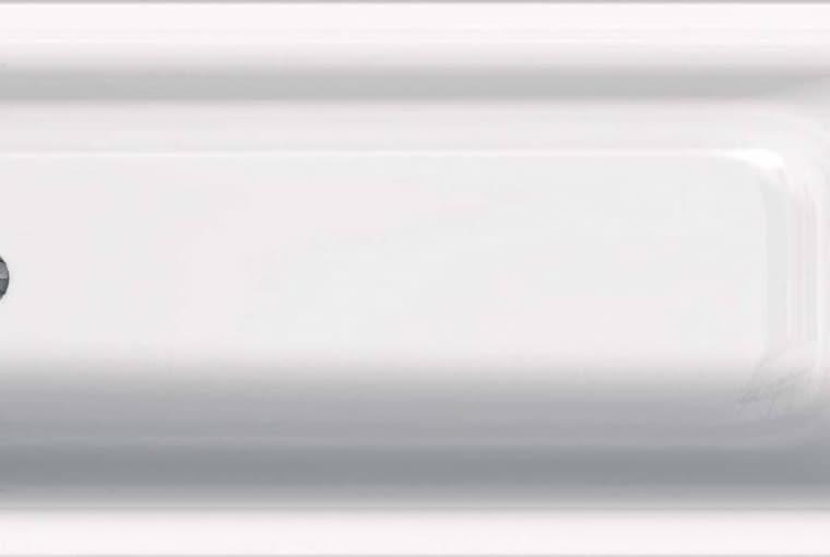 Koło Rekord/KOŁO. Wanna akrylowa, prostokątna o pojemności 176 l; pokryta powłoką AntiSlide, która zapewnia bezpieczeństwo podczas kąpieli; dł. 170 cm; szer.: 70 cm; gł: 40 cm. Cena (netto): 547 zł, www.kolo.com.pl