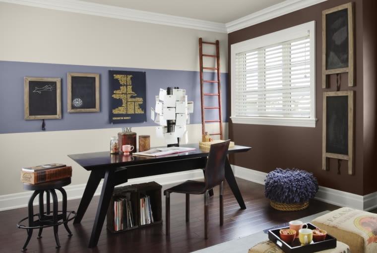 dekoracje wnętrz, drabina dekoracyjna, salon, ozdoby, wyposażenie wnętrz