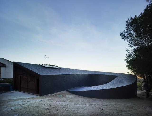 subarquitectura, hiszpania, dom jednorodzinny, willa 360, dom 360