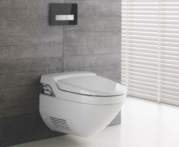 połączenie sedesu i bidetu, łazienka, miska w.c., bidet