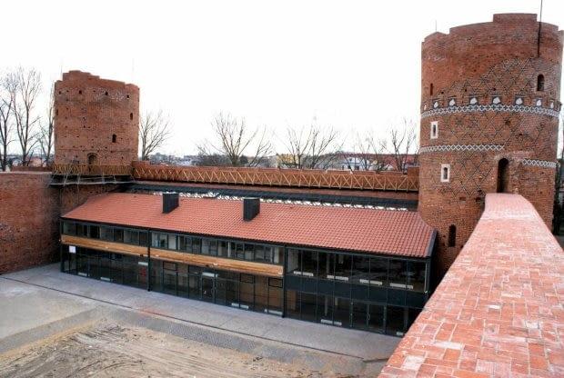 Nowy Pawilon na zamku w Ciechanowie. Materiały Muzeum Szlachty Mazowieckiej