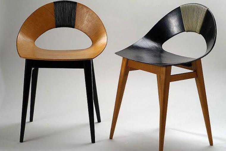 Muszelka, krzesło Kruszewska