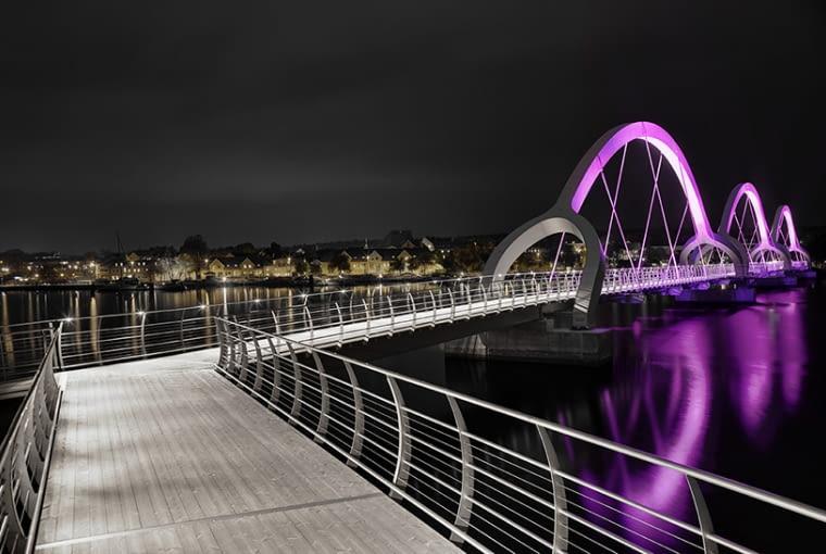 Sölvesborg Bridge, Sölvesborg, Szwecja