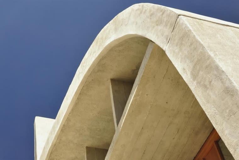 Jednostka Marsylska, proj. Le Corbusier - detal gimnazjum na tarasie dachowym