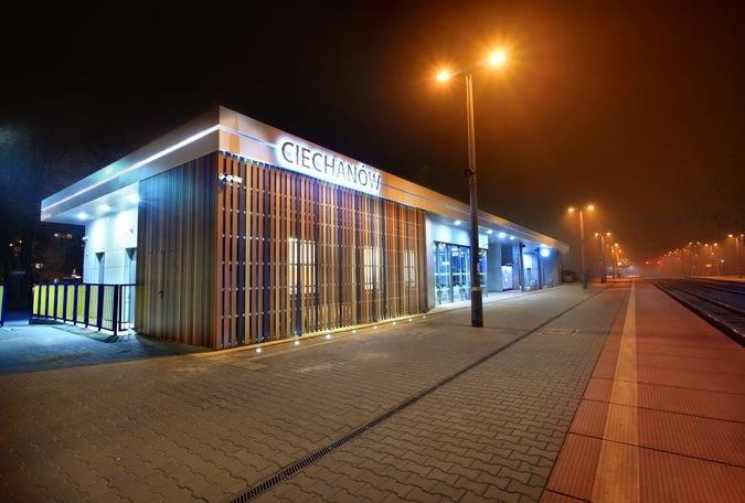 Nowy Dworzec systemowy w Ciechanowie