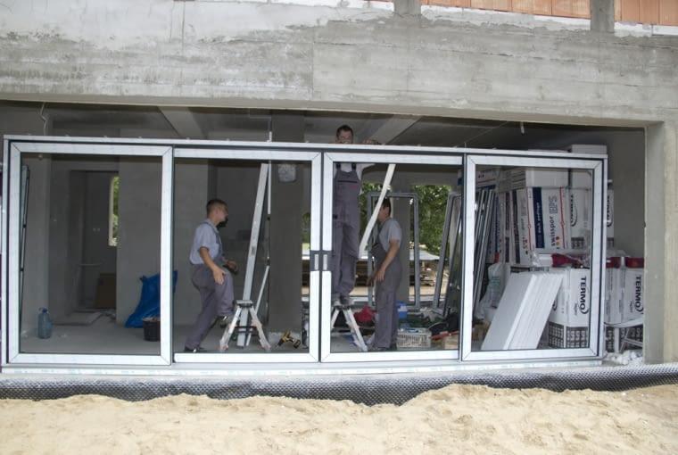 taras, balkon, okna tarasowe, montaż okien
