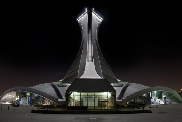 Wieża stadionu olimpijskiego w Montrealu - Roger Taillibert (1987)
