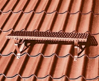 Ława kominiarska. Powinna być umieszczona w takim miejscu, w którym zapewni bezpieczny i wygodny dostęp do komina.