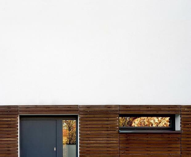 nowoczesny dom, realizacje domów, wejście, drzwi zewnętrzne
