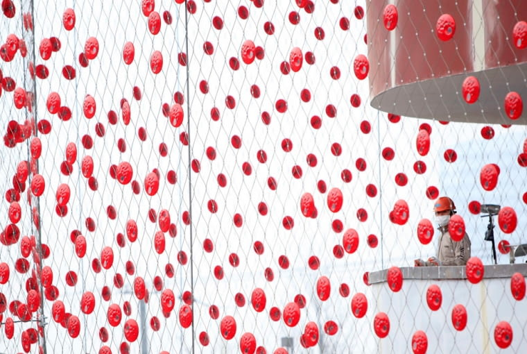 Szwajcarski pawilon na EXPO 2010 dzieło Buchner Bründler Architects