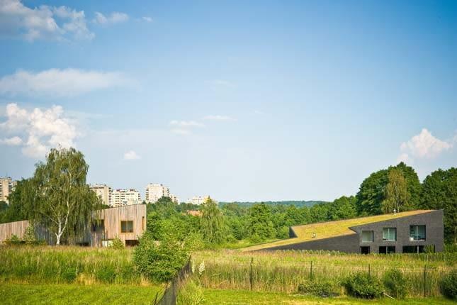 Domy sąsiedzkie w Rybniku projektu jojko nawrocki architekci