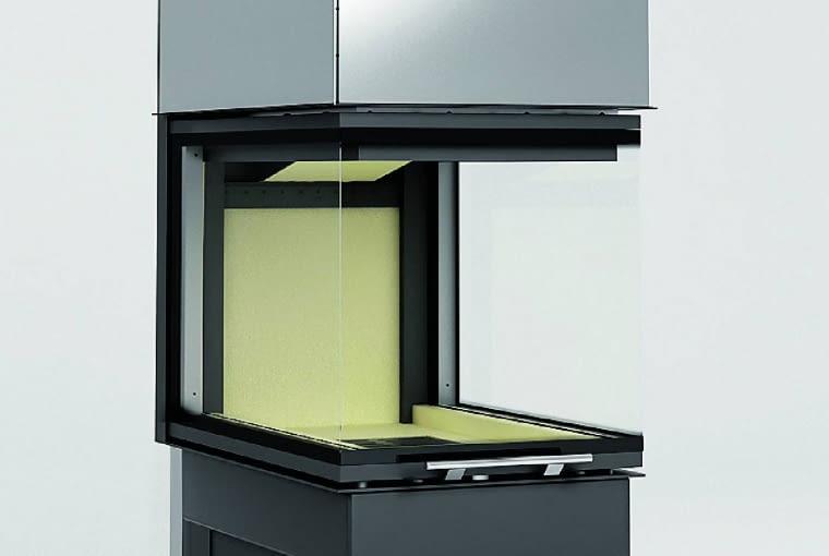 Smart 3PLh/HAJDUK   Moc nominalna 7,5 kW   materiał: stal i szamot   drzwi bezramowe trójstronne otwierane do góry;   sprawność: średnia 85%; system rozdziału powietrza Jet Stream Superior. Cena (netto): 8800 zł, www.hajduk.eu