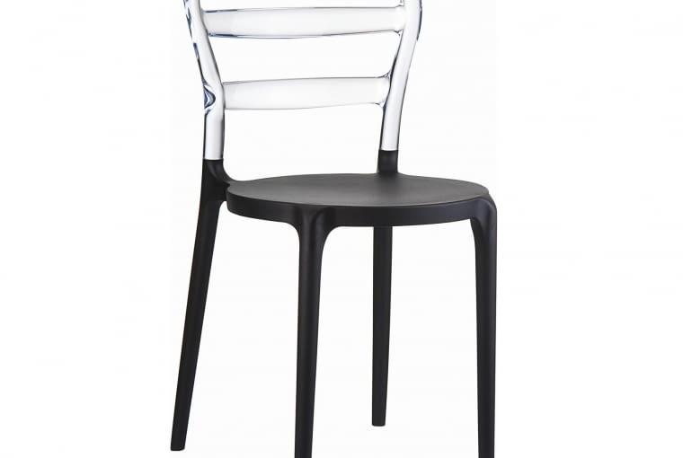 W stylu tego wnętrza: krzesło Miss Bibi, poliwęglan, Decomania.pl, 298 zł