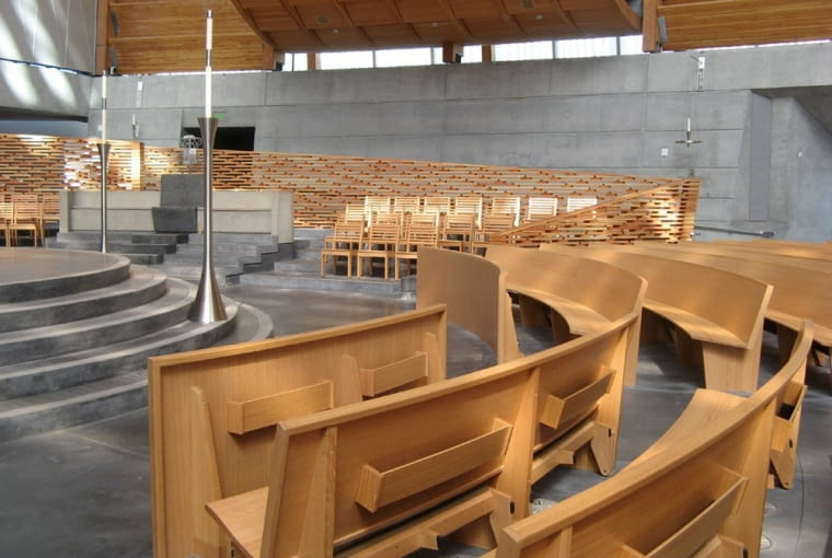 Skidmore Owings and Merrillm kościół w Oakland