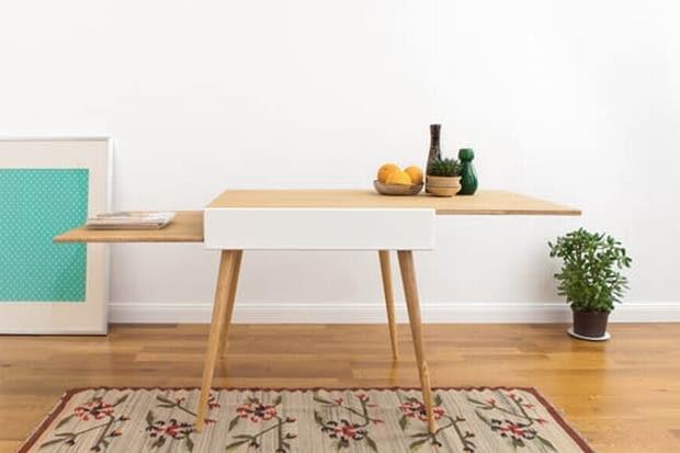 Stół S rozłożony