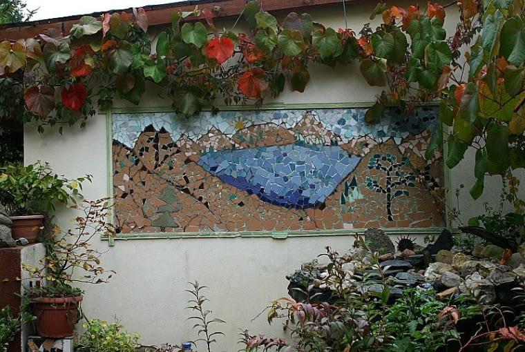 Prace konkursowe - mozaika w ogrodzie