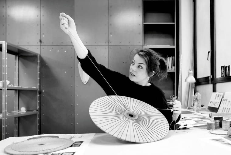 ;Reportage aux Ateliers de Paris. Portrait de Marta Bakowski